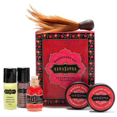 Kamasutra - Strawberry Weekender Kit